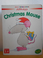 CHRISTMAS MOUSE Push-pull