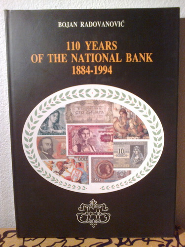 110 YEARS OF THE NATIONAL BANK 1884-1994
