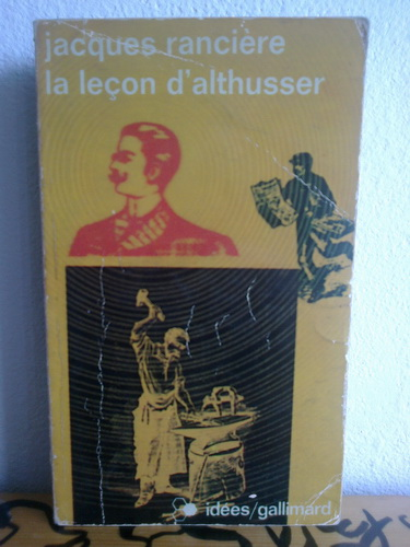 LA LECON D ALTHUSSER