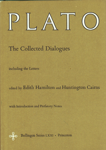 PLATO: The Collected Dialogues