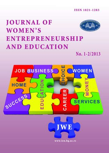 "Journal of Women""s Entrepreneurship and Education 1-2 2013"
