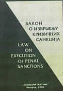 Law on execution of penal sanctions