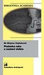 Postavka ruku u nastavi violine : Mirjana Hajduković