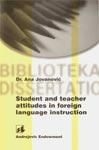 Student and teacher attitudes in foreign language